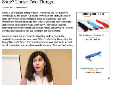 penny zenker featured in forbes magazine