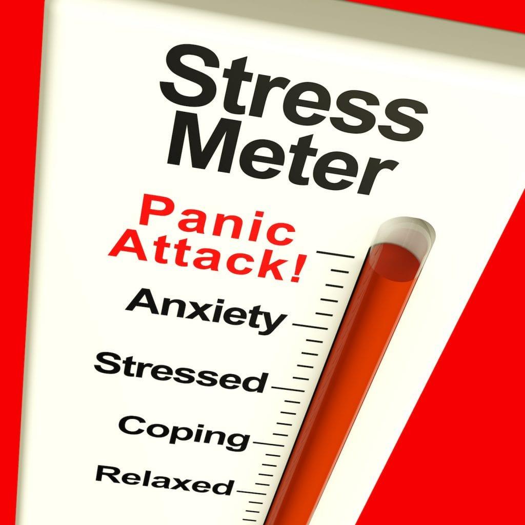 stress meter high level