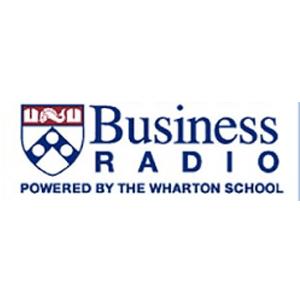 business radio powered by the wharton school logo