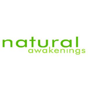 natural awakenings black and green logo