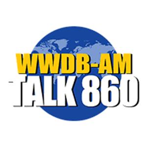 wwdb-am talk 860 radio station logo