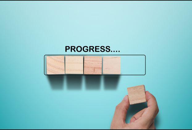 time blocking app progress